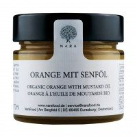 Orange mit Senföl Bio