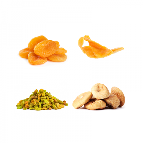 Organic Dried Fruits Sample Package